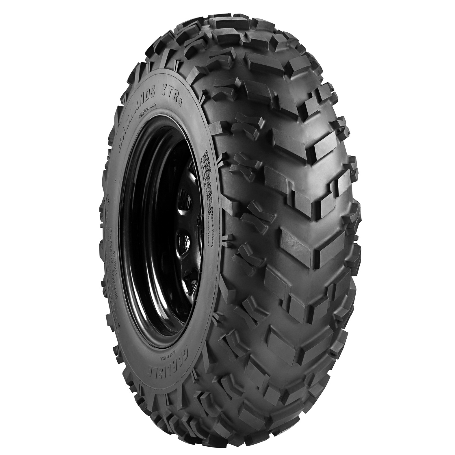 Carlisle Badlands XTR ATV Tire - Angle