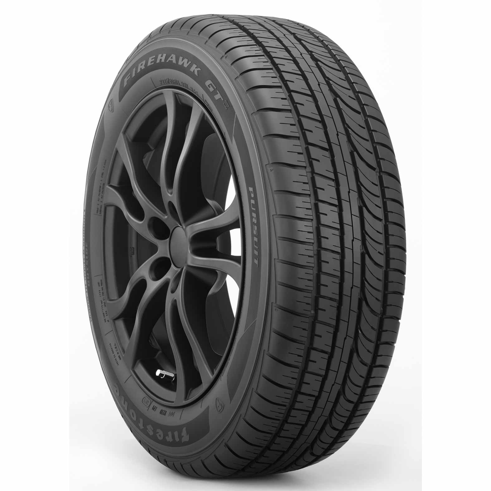 Firestone Firehawk GT Pursuit tire - angle