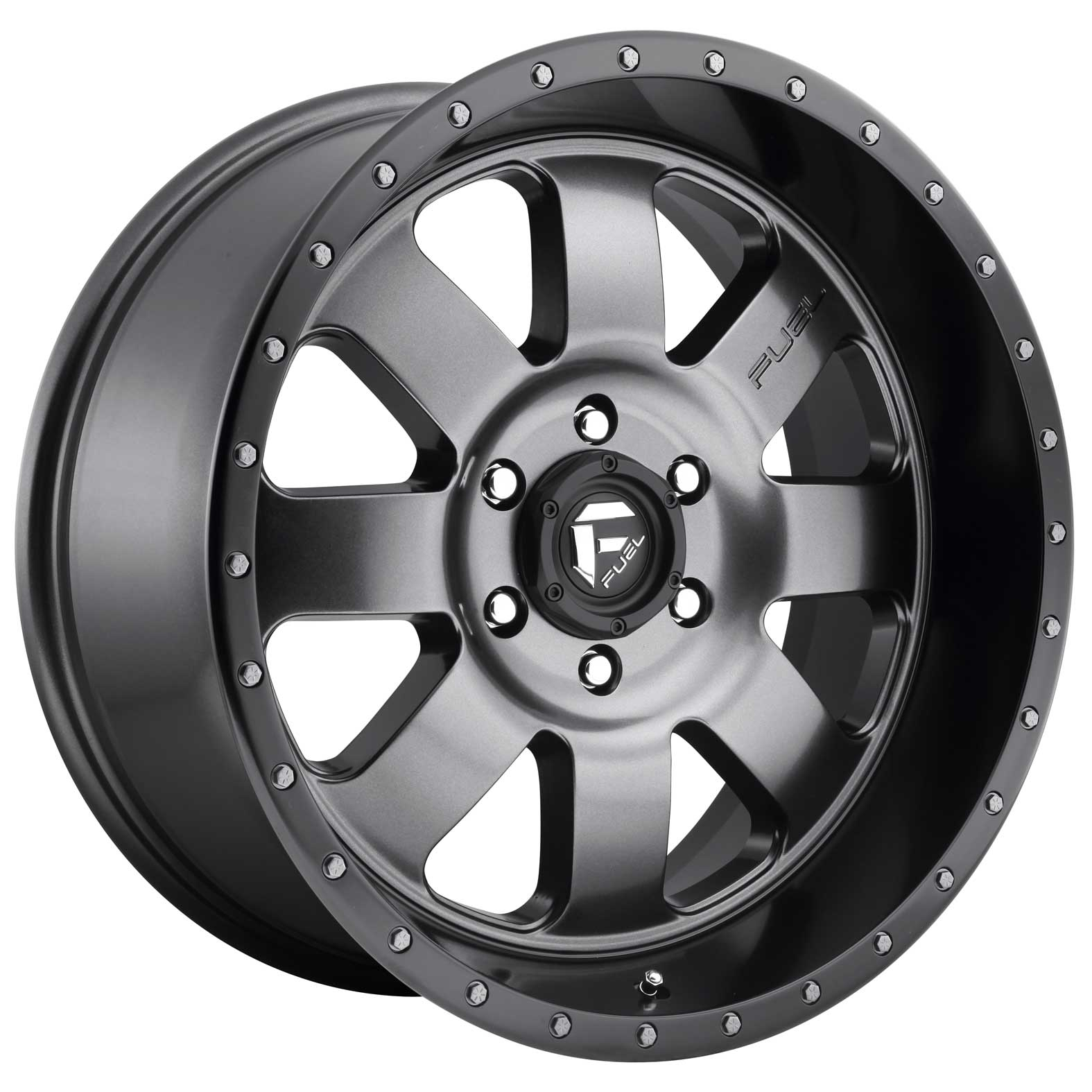 Fuel Baja Black Satin Wheel