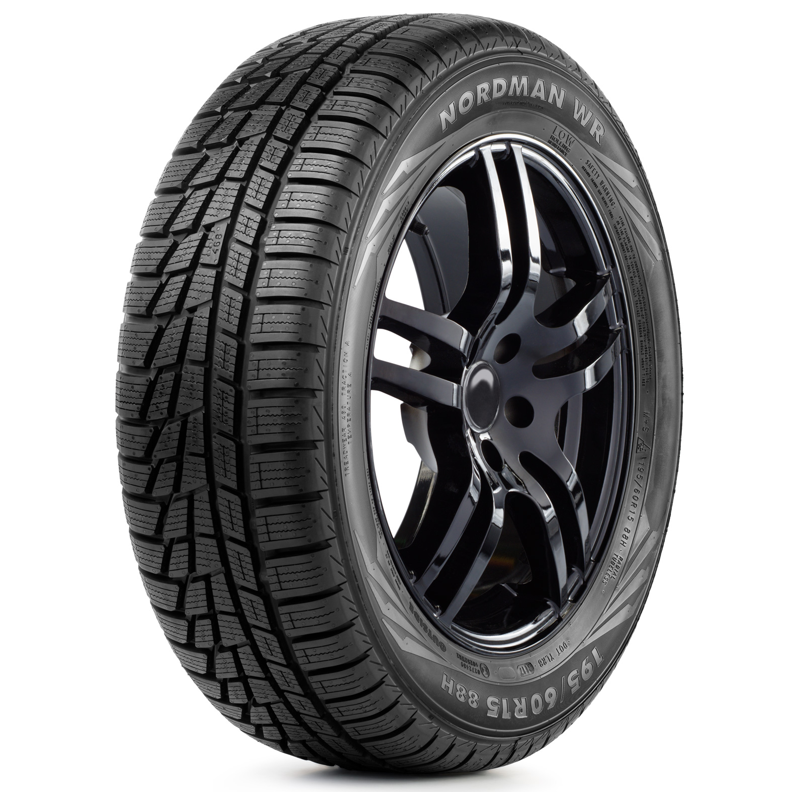 Nordman WR tires – angle