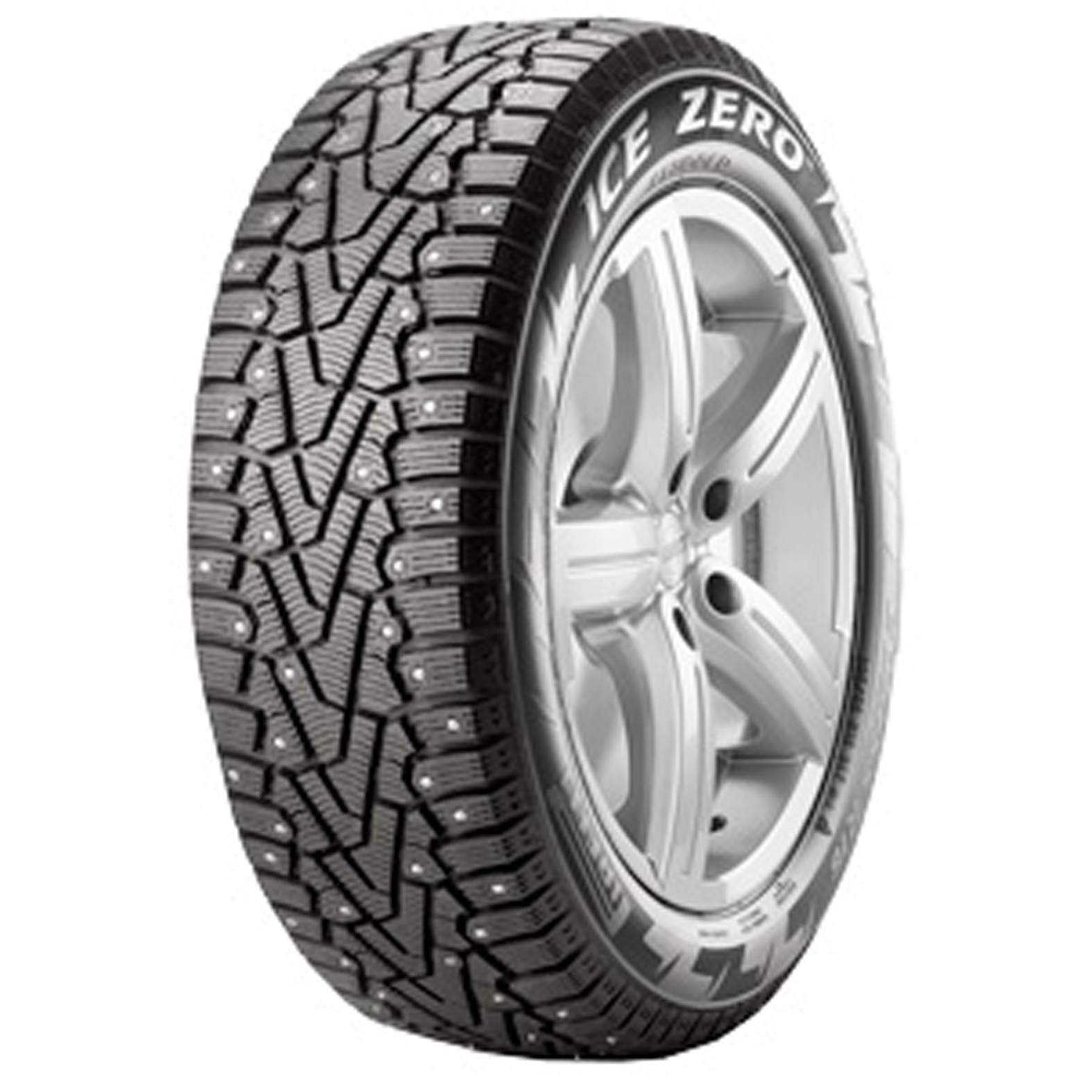 Pirelli Winter Ice Zero Studded tire - angle
