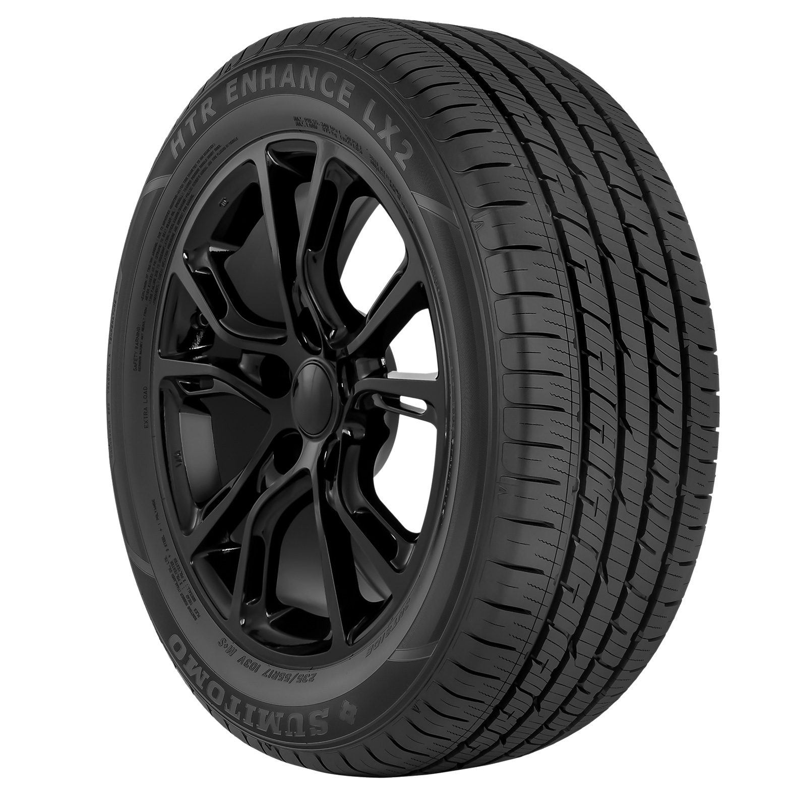 Sumitomo HTR Enhance LX2 tire – angle