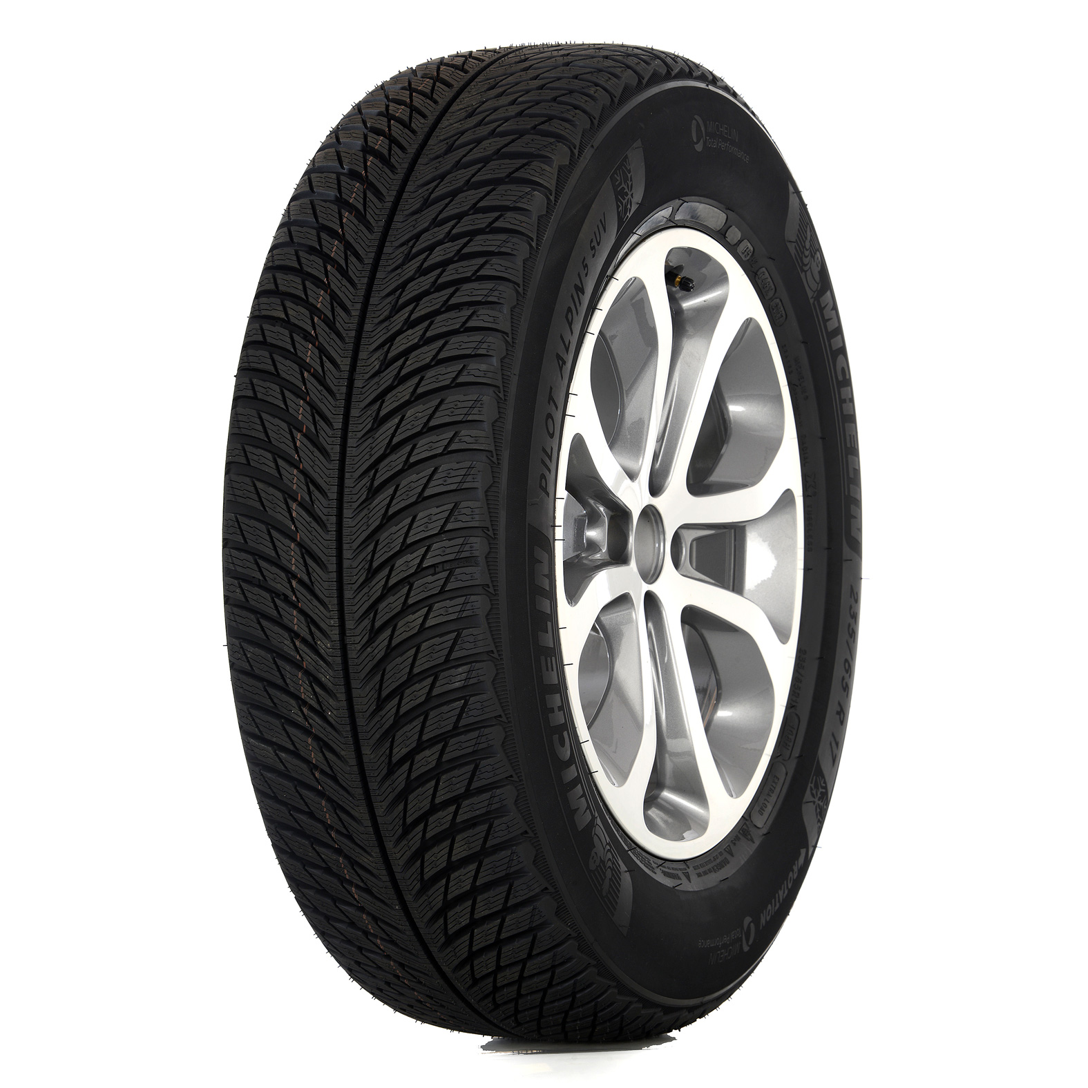 Michelin PILOT ALPIN PA5 tire - angle