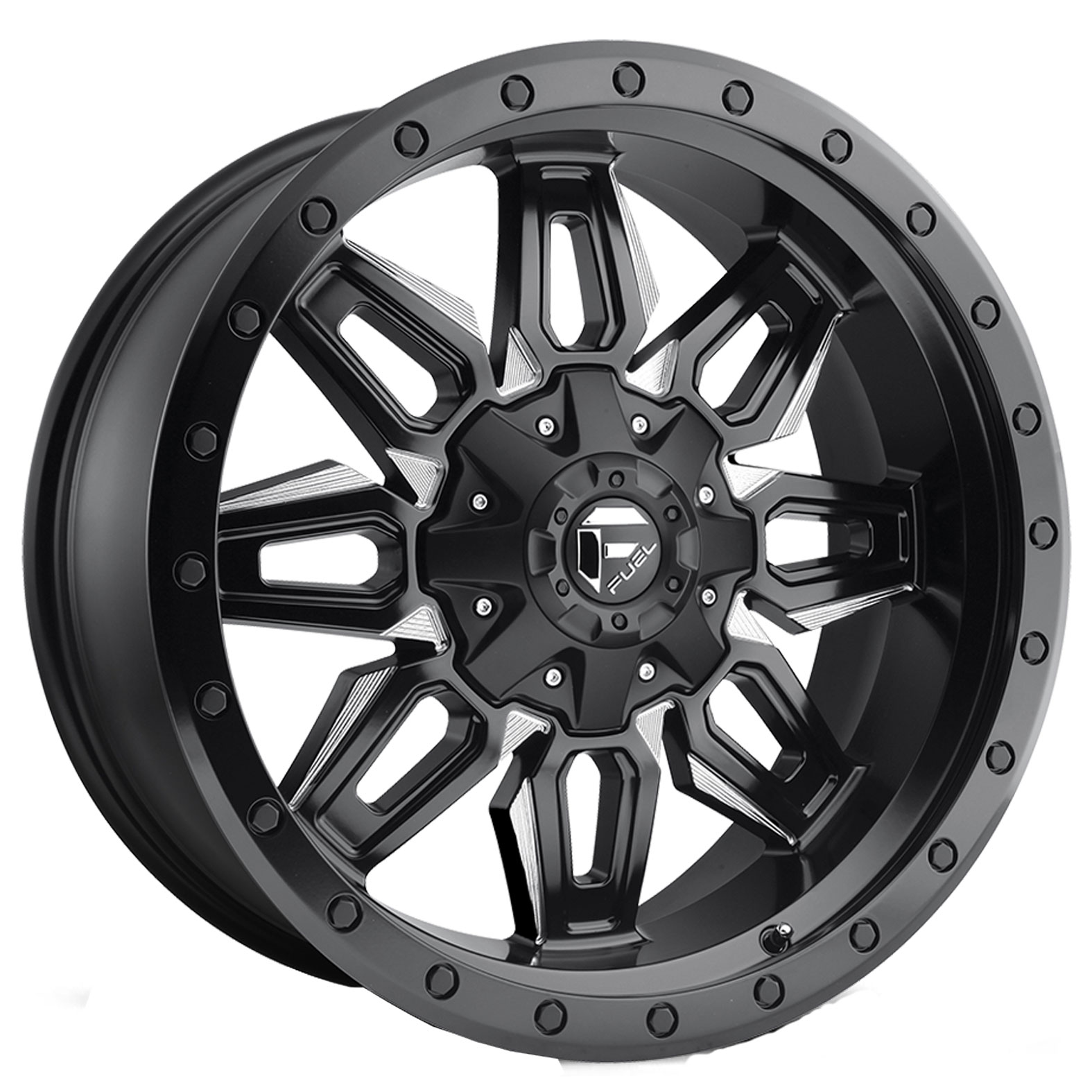 Fuel Neutron Black Milled Wheel