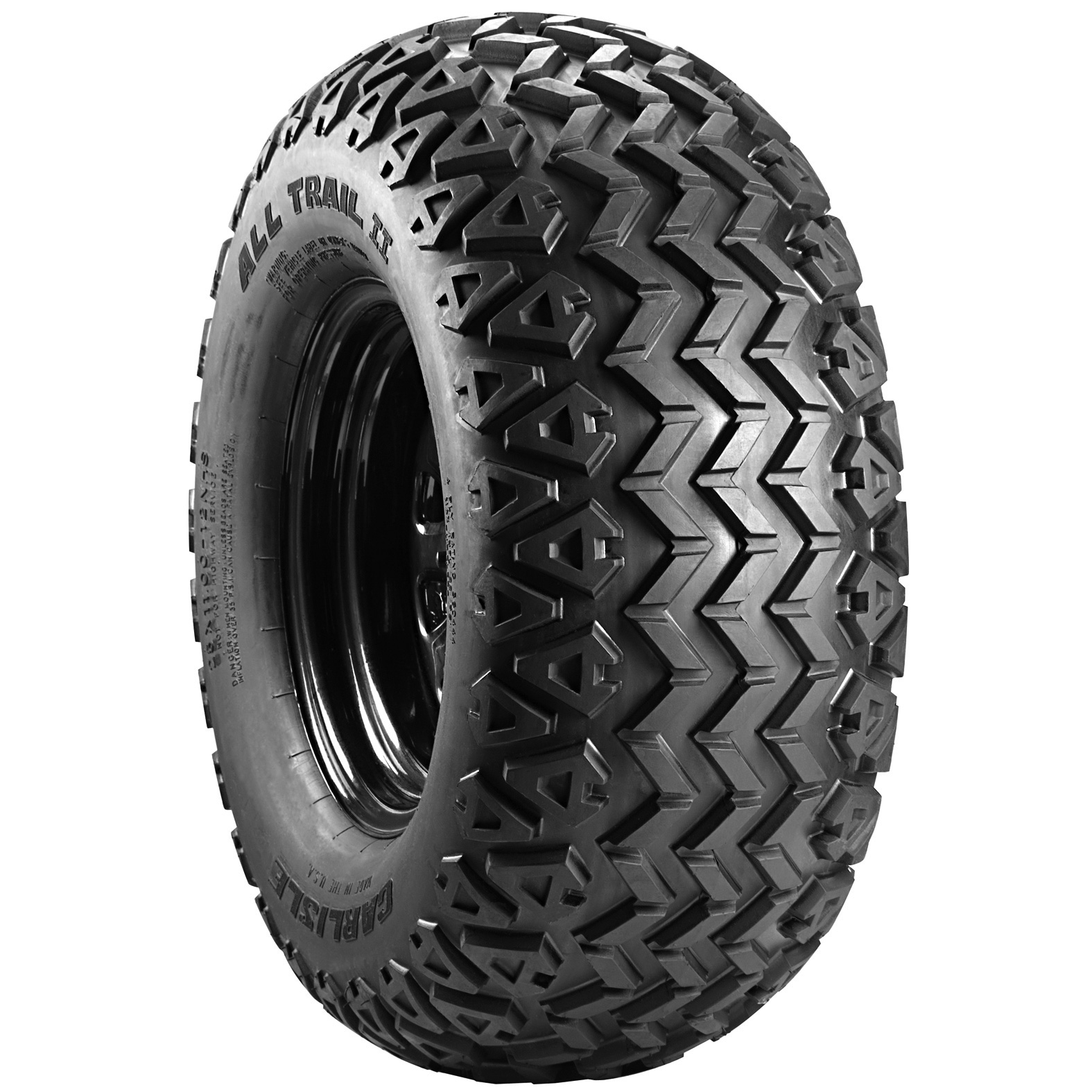 Carlisle All Trail II ATV Tire - Angle